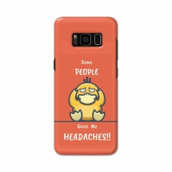 Buy Samsung S8 Headaches Mobile Phone Covers Online at Craftingcrow.com