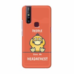 Buy Vivo V15 Headaches Mobile Phone Covers Online at Craftingcrow.com