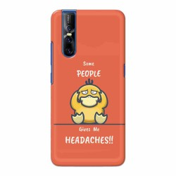 Buy Vivo V15 Pro Headaches Mobile Phone Covers Online at Craftingcrow.com