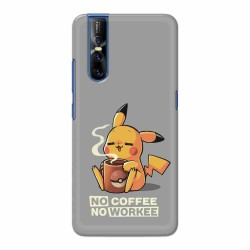 Buy Vivo V15 Pro No Coffee No Workee Mobile Phone Covers Online at Craftingcrow.com
