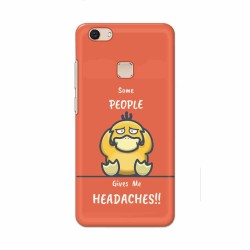 Buy Vivo V7 Plus Headaches Mobile Phone Covers Online at Craftingcrow.com