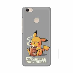 Buy Vivo V7 Plus No Coffee No Workee Mobile Phone Covers Online at Craftingcrow.com