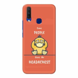 Buy Vivo Y15 (2019) Headaches Mobile Phone Covers Online at Craftingcrow.com