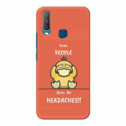 Buy Vivo Y17 Headaches Mobile Phone Covers Online at Craftingcrow.com