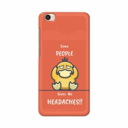 Buy Vivo Y55 Headaches Mobile Phone Covers Online at Craftingcrow.com