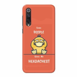 Buy Xiaomi Mi 9 SE Headaches Mobile Phone Covers Online at Craftingcrow.com