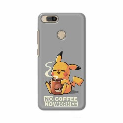 Buy Xiaomi Mi A1 No Coffee No Workee Mobile Phone Covers Online at Craftingcrow.com