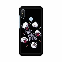 Buy Xiaomi Mi A2 Face Your Fears Mobile Phone Covers Online at Craftingcrow.com