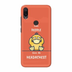 Buy Xiaomi Mi Play Headaches Mobile Phone Covers Online at Craftingcrow.com