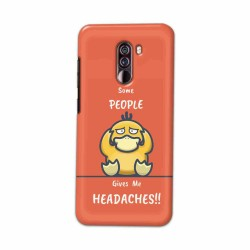 Buy Xiaomi Pocophone F1 Headaches Mobile Phone Covers Online at Craftingcrow.com