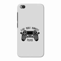 Buy Xiaomi Redmi Go Five More Minutes Mobile Phone Covers Online at Craftingcrow.com