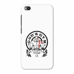 Buy Xiaomi Redmi Go Gods Gym Mobile Phone Covers Online at Craftingcrow.com