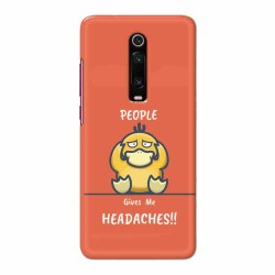 Buy Xiaomi Redmi K20 Pro Headaches Mobile Phone Covers Online at Craftingcrow.com