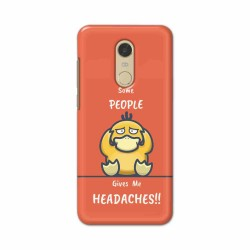 Buy Xiaomi Redmi Note 5 Headaches Mobile Phone Covers Online at Craftingcrow.com