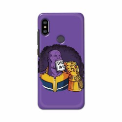 Buy Xiaomi Redmi Note 6 Pro Dad No. 1 Mobile Phone Covers Online at Craftingcrow.com