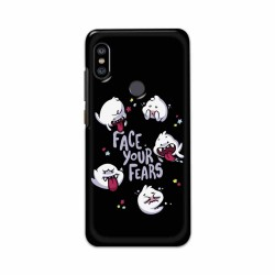 Buy Xiaomi Redmi Note 6 Pro Face Your Fears Mobile Phone Covers Online at Craftingcrow.com