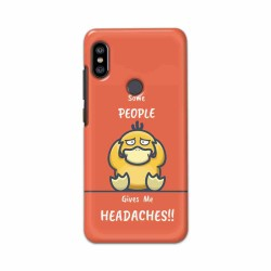 Buy Xiaomi Redmi Note 6 Pro Headaches Mobile Phone Covers Online at Craftingcrow.com