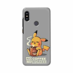 Buy Xiaomi Redmi Note 6 Pro No Coffee No Workee Mobile Phone Covers Online at Craftingcrow.com