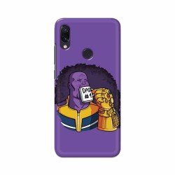 Buy Xiaomi Redmi Note 7 Dad No. 1 Mobile Phone Covers Online at Craftingcrow.com