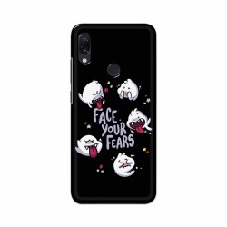 Buy Xiaomi Redmi Note 7 Face Your Fears Mobile Phone Covers Online at Craftingcrow.com