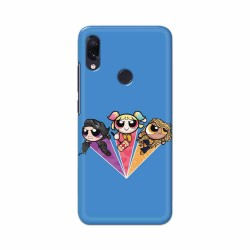 Buy Xiaomi Redmi Note 7 Powerpuff Birds Mobile Phone Covers Online at Craftingcrow.com