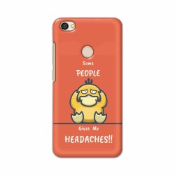 Buy Xiaomi Redmi Y1 Headaches Mobile Phone Covers Online at Craftingcrow.com