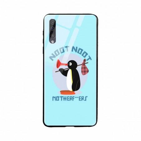 Galaxy A50 - Noot Noot- Glass Case