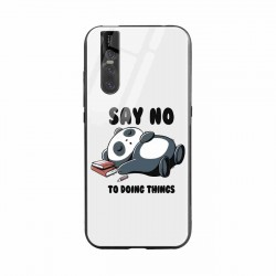 Buy Vivo V15 Pro Say No  Mobile Phone Covers Online at Craftingcrow.com