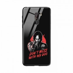 Buy Xiaomi Poco F1 Dont Mess With my Dog  Mobile Phone Covers Online at Craftingcrow.com