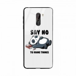 Buy Xiaomi Poco F1 Say No  Mobile Phone Covers Online at Craftingcrow.com