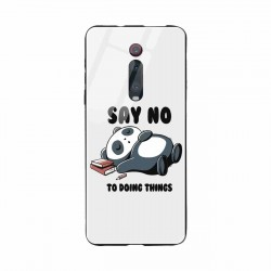 Buy Xiaomi Redmi K20 Pro Say No  Mobile Phone Covers Online at Craftingcrow.com