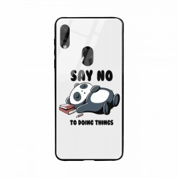 Buy Xiaomi Redmi Note 7 Pro Say No  Mobile Phone Covers Online at Craftingcrow.com