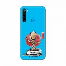 Buy Redmi Note 8 Bonsai Groot Mobile Phone Covers Online at Craftingcrow.com