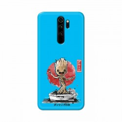Buy Redmi Note 8 Pro Bonsai Groot Mobile Phone Covers Online at Craftingcrow.com