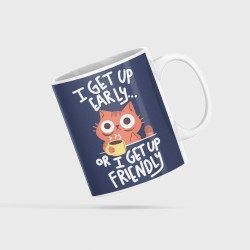 Buy Early Morning Cups & Coasters Online at Craftingcrow.com