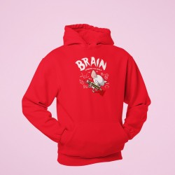 Buy Brains Conquers the World Hoodies Online at Craftingcrow.com