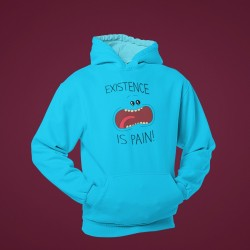 Buy Existence is Pain Hoodies Online at Craftingcrow.com