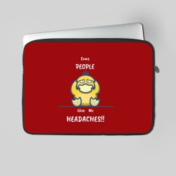 Buy Headaches Laptop Sleeves Online at Craftingcrow.com