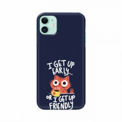 Buy Apple Iphone 11 Morning Cat Mobile Phone Covers Online at Craftingcrow.com