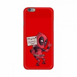 Buy Apple Iphone 6 I am with Stupid Mobile Phone Covers Online at Craftingcrow.com
