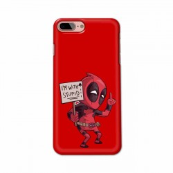 Buy Apple Iphone 7 Plus I am with Stupid Mobile Phone Covers Online at Craftingcrow.com