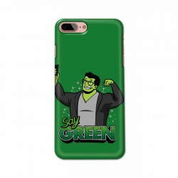 Buy Apple Iphone 7 Plus Say Green Mobile Phone Covers Online at Craftingcrow.com
