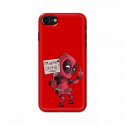 Buy Apple Iphone 8 I am with Stupid Mobile Phone Covers Online at Craftingcrow.com