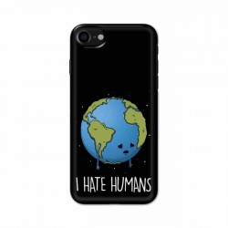 Buy Apple Iphone 8 I Hate Humans Mobile Phone Covers Online at Craftingcrow.com