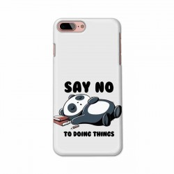 Buy Apple Iphone 8 Plus Say No Mobile Phone Covers Online at Craftingcrow.com