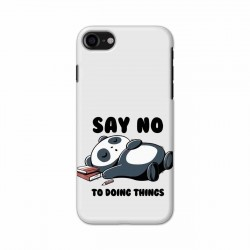 Buy Apple Iphone 8 Say No Mobile Phone Covers Online at Craftingcrow.com