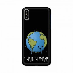 Buy Apple Iphone X I Hate Humans Mobile Phone Covers Online at Craftingcrow.com