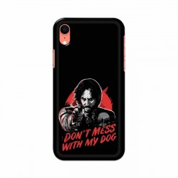 Buy Apple Iphone XR Dont Mess With my Dog Mobile Phone Covers Online at Craftingcrow.com
