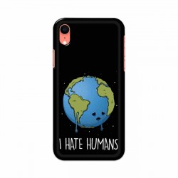 Buy Apple Iphone XR I Hate Humans Mobile Phone Covers Online at Craftingcrow.com