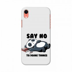 Buy Apple Iphone XR Say No Mobile Phone Covers Online at Craftingcrow.com